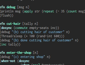 Blog: Sleeping Barber Problem with AKKA feature image