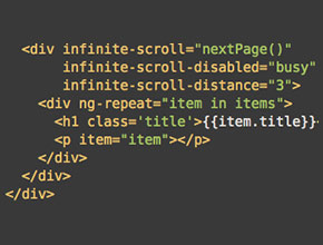 Implement Infinite Scroll Pagination in AngularJS