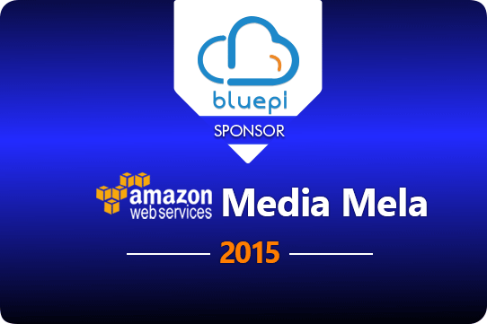 BluePi's Presence at the AWS Media Mela Event 2015