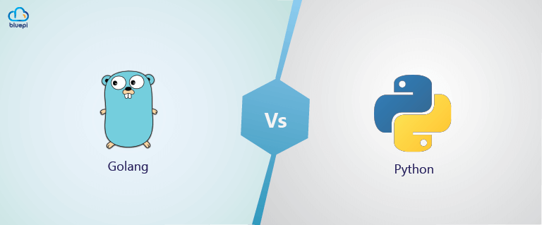 Python vs Golang blog feature image