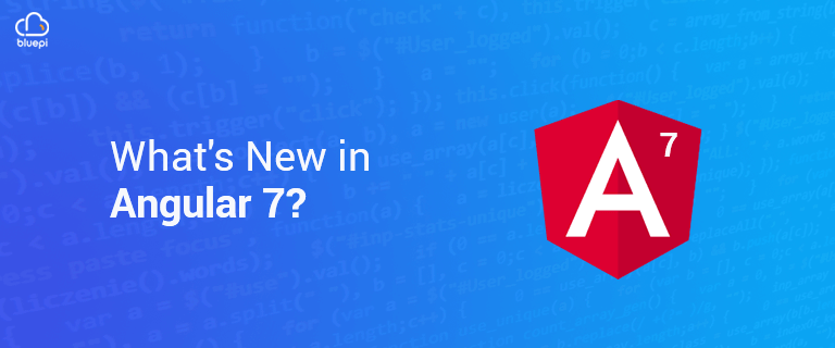 What's New in Angular 7 - image