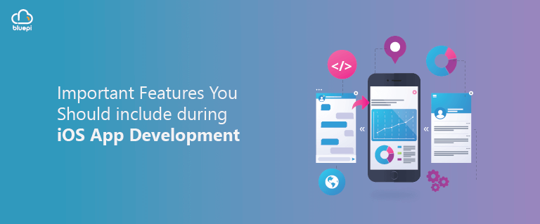 Features to include in IOS appdev